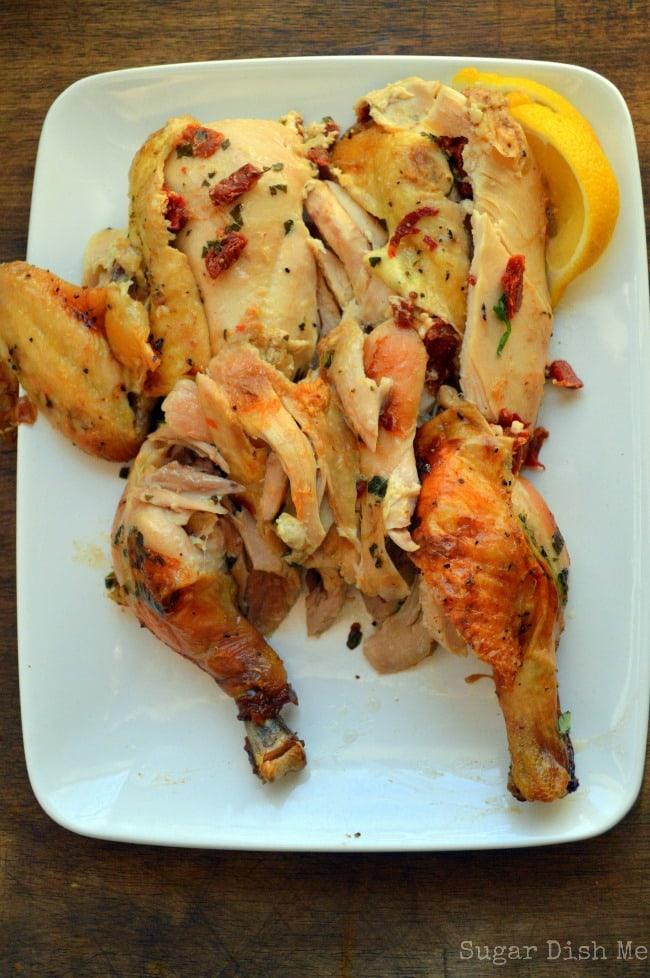 Carrabba's Chicken Bryan Inspired Roasted Chicken