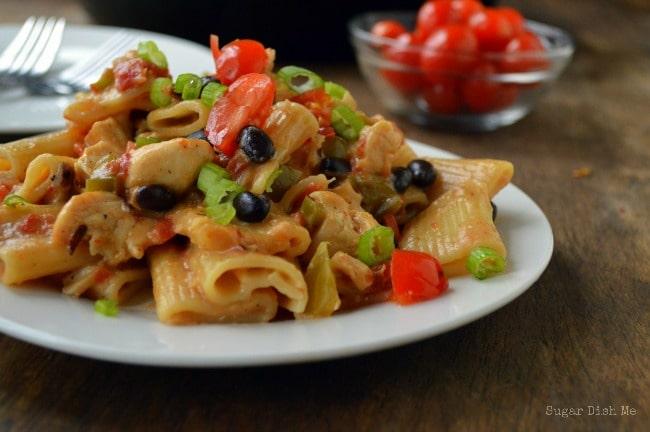 Southwest Chicken Pasta; a Sonora Chicken Pasta Copycat Recipe