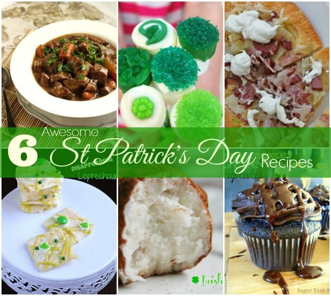 6 St. Patrick's Day Recipes on www.sugardishme.com