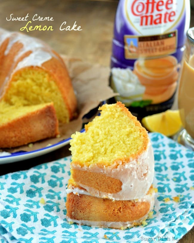 Sweet Creme Lemon Cake