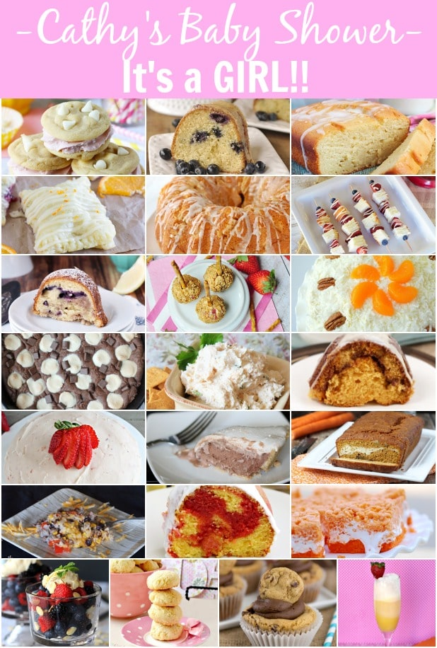 Surprise Baby Shower Recipes