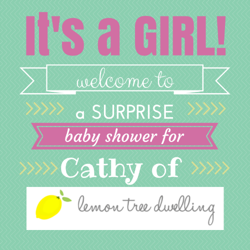 Surprise Baby Shower for Lemon Tree Dwelling
