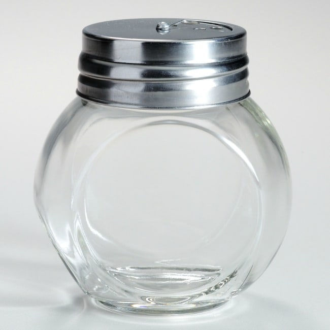 Glass Spice Jars for The Great Baking Closet Clean Out Giveaway