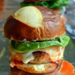 Buffalo Turkey Sliders are DELICIOUS little appetizer goodies!