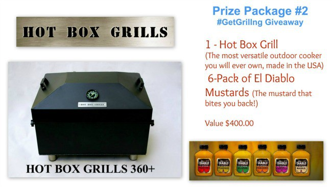 Grill Giveaway Prize pack 2