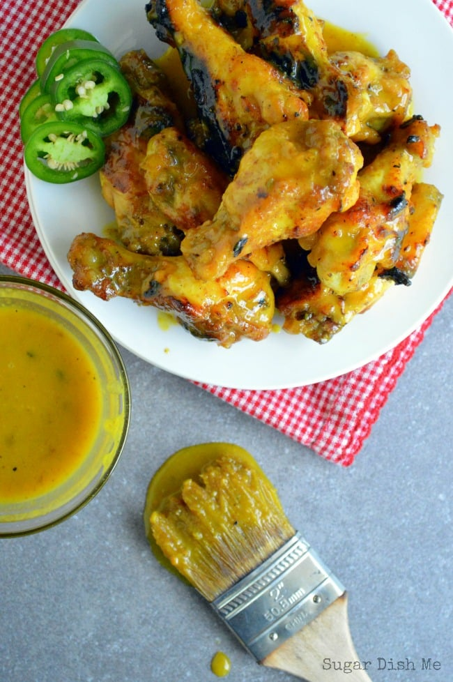 Hot Jalapeno Honey Mustard Wings