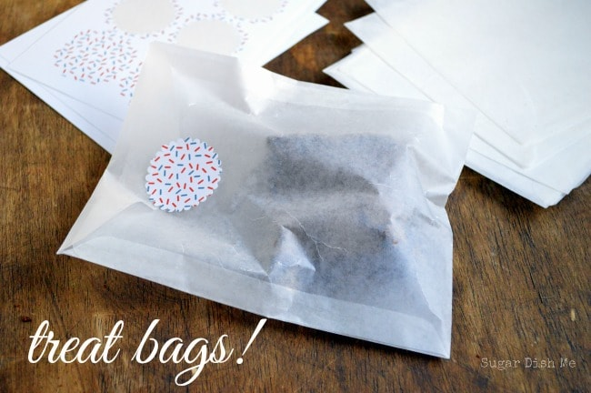 Shipping Baked Goods Using Treat Bags