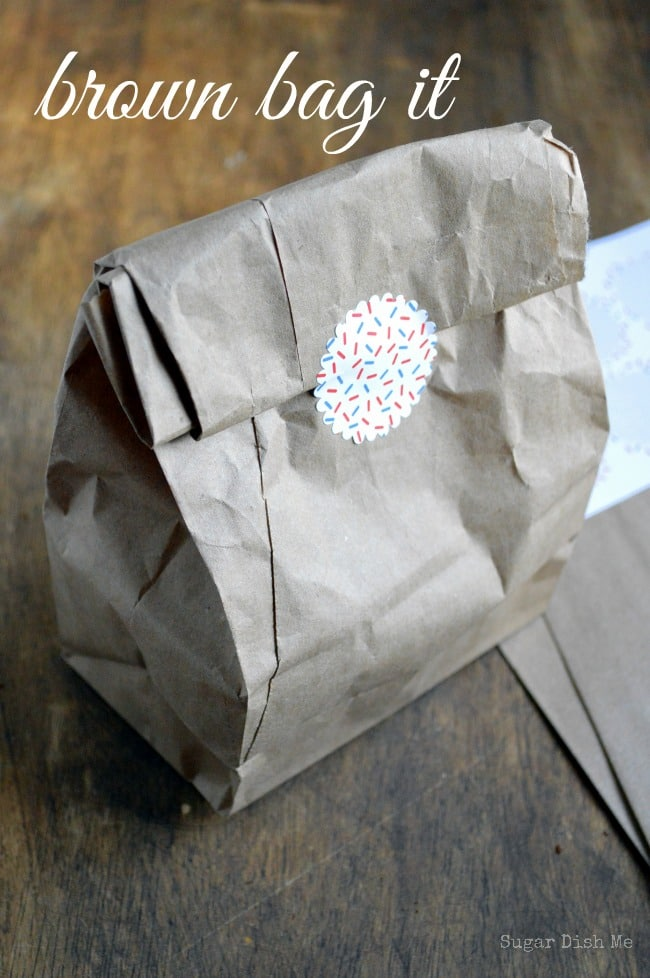 Baked Goods in Brown Bags
