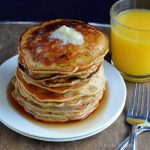 Zucchini Bread Pancakes with Whole Wheat