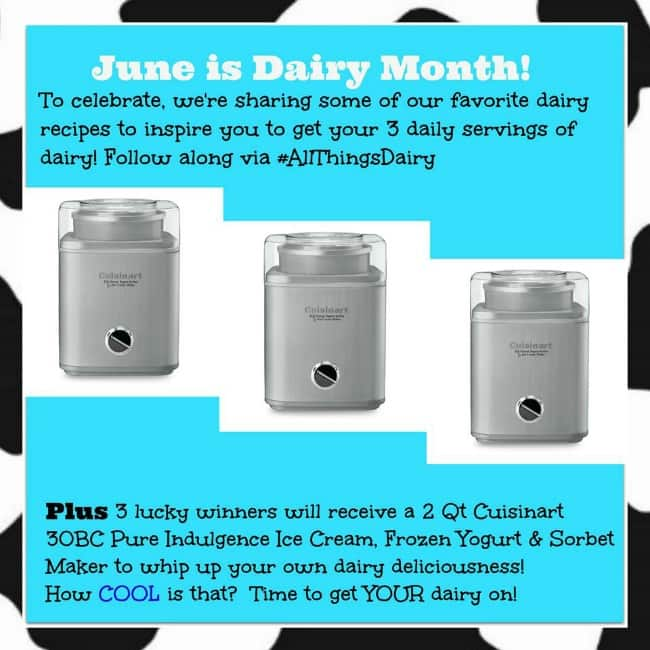 June is National Dairy Month Giveaway!