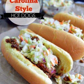 Carolina Style Hot Dogs