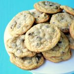 Chewy Chocolate Chip Cookie Recipe with sea Salt