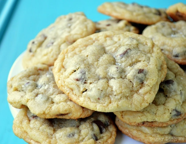 The Best Chewy salted Chocolate Chip Cookie Recipe