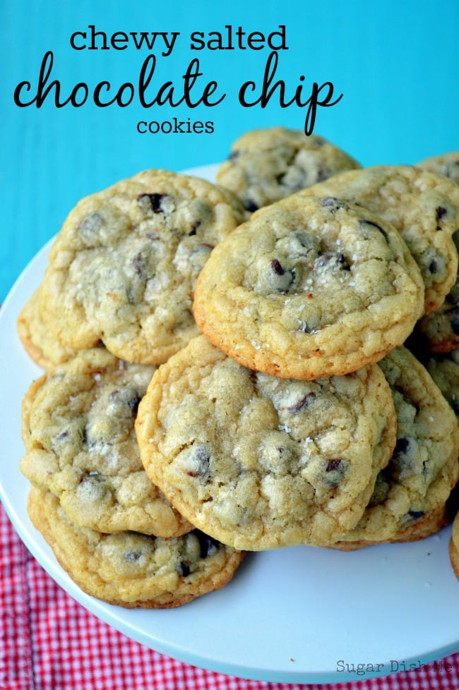 Salted Chocolate Chip Cookies Recipe — Dishmaps