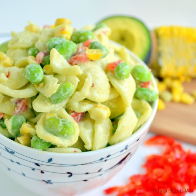 Pasta Salad with Greek Yogurt Dressing and No Mayo