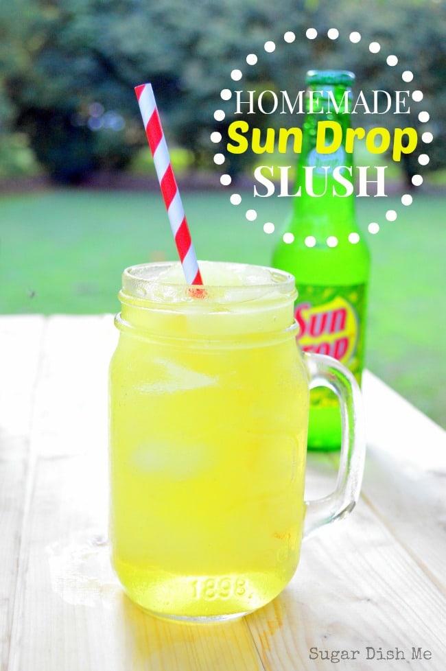Homemade Sun Drop Slush