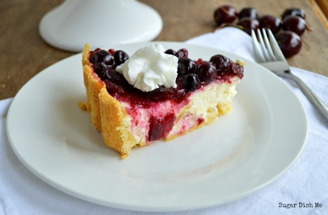 Cherry Berry Cheesecake Pie