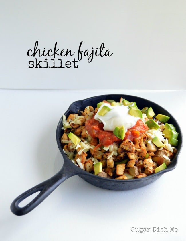Chicken Fajita Breakfast Skillet