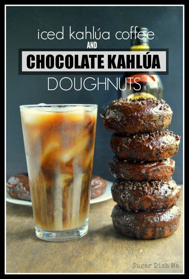 Chocolate Kahlua Doughnuts