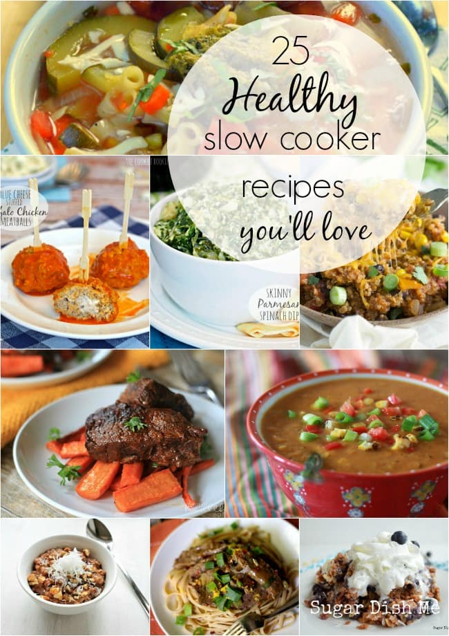 25 Healthy Slow Cooker Recipes You'll Love