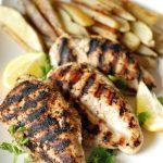 Grilled Chicken with Jamaican Jerk Seasoning via Lemons for Lulu; Meal Plans Made Simple