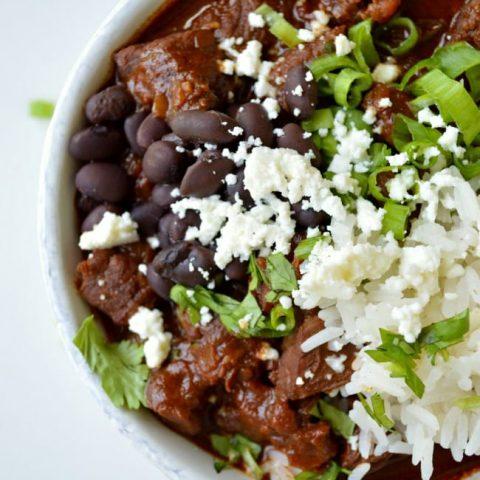 Mole Chili Con Carne with Kahlua