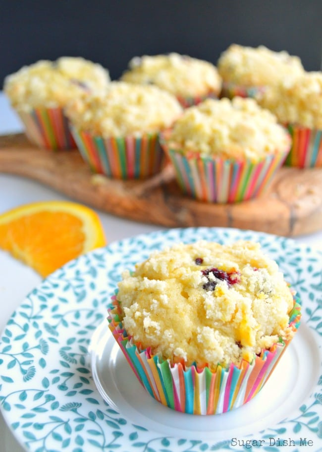 Blueberry Muffins with Brown Butter and Orange