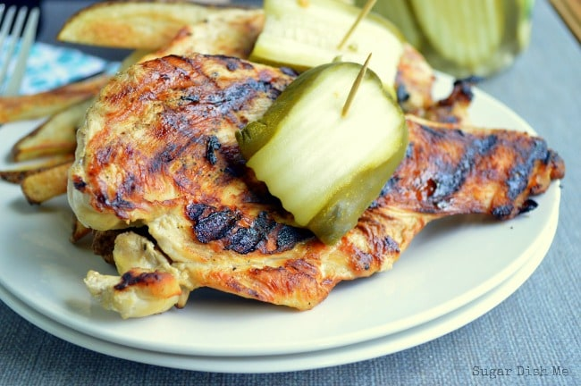 Chicken Marinated in Pickle Juice