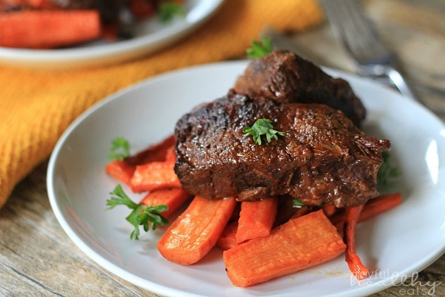Slow Cooker Balsamic Braised Short Ribs
