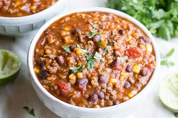 Slow Cooker Tex Mex Soup