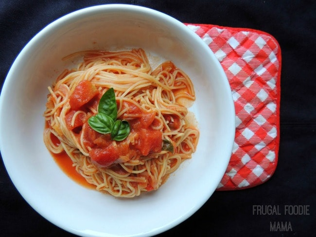 Slow Cooker Vodka Sauce