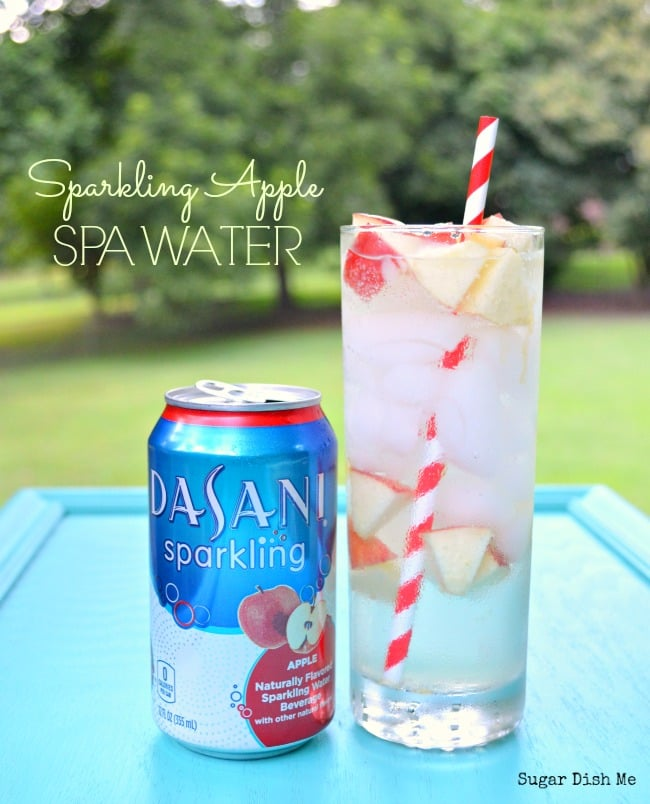 Sparkling Apple Spa Water