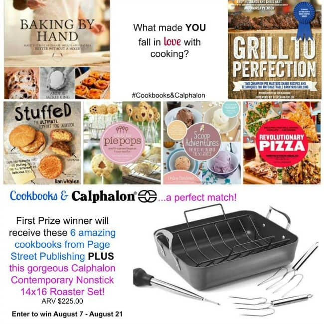 Cookbooks and Calphalon Giveaway