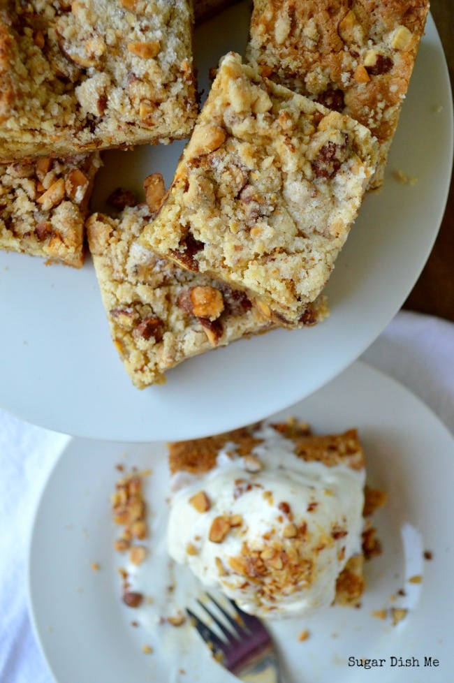 Spicy Almond Blondies