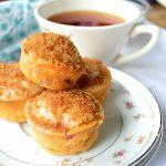 Raspberry Orange Tea Muffins