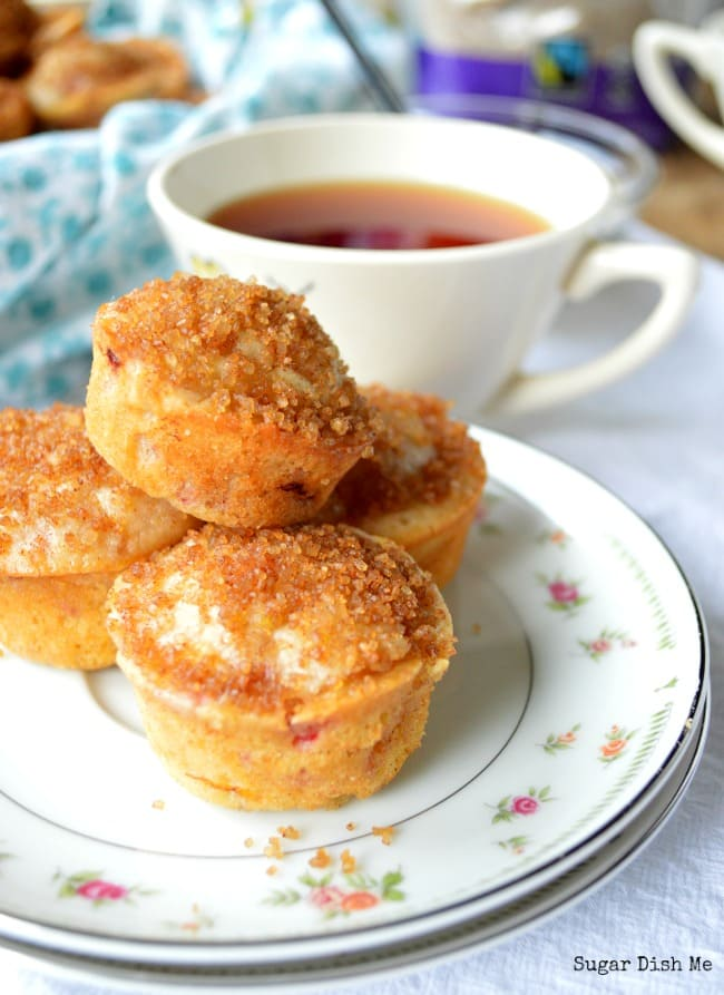 Raspberry Orange Tea Muffins