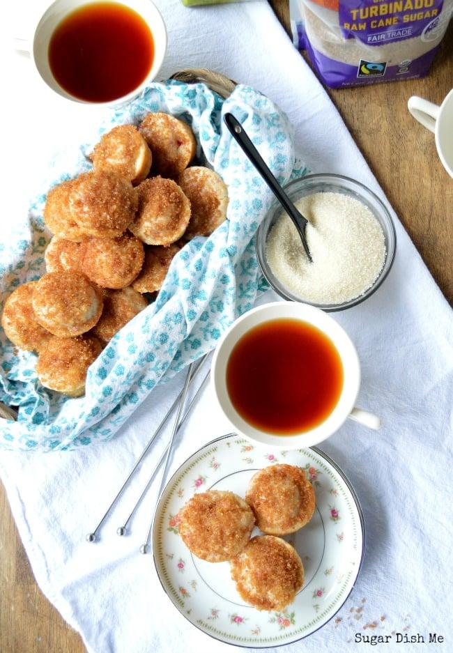 Raspberry Orange Mini Muffins
