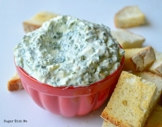 The Best No Bake Spinach Dip Recipe