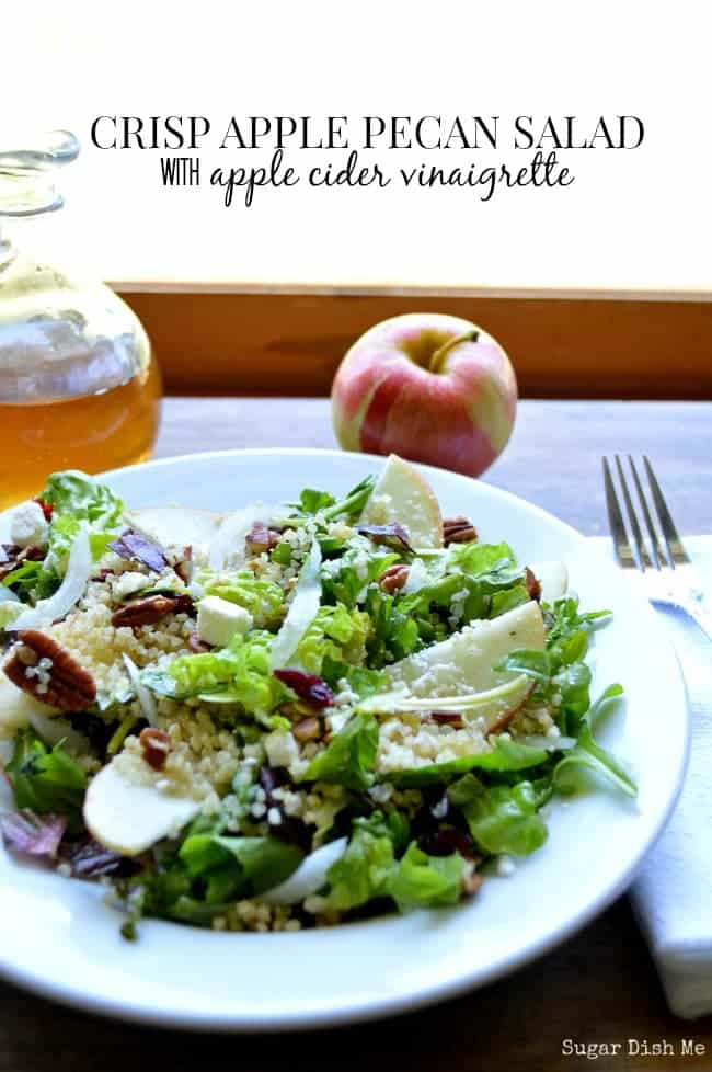... apple crisp toasted quinoa and apples arugula salad with apples and