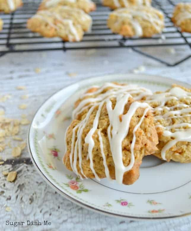 Oatmeal Cookie Recipe with Apples