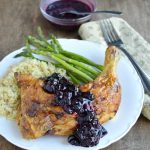 Rrange Basil Butter Roasted Chicken