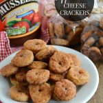Homemade Apple Butter Cheese Crackers