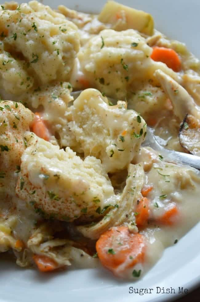 Chicken and Cheese Dumpling Recipe