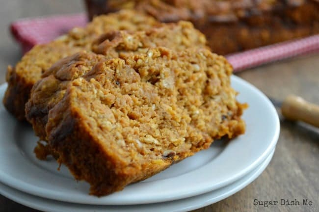Banana Bread with Pumpkin