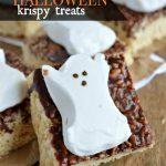 Spooky Halloween Krispy Treats
