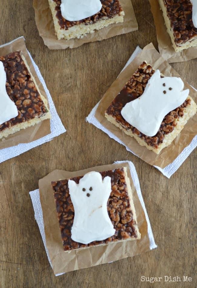 Spooky Krispy Treats