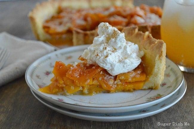 Butternut Squash Tart Thanksgiving Recipe