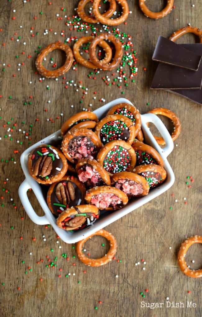 Chocolate Pretzel Party Bites Recipe