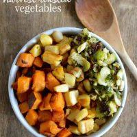 Rainbow Harvest Roasted Vegetables