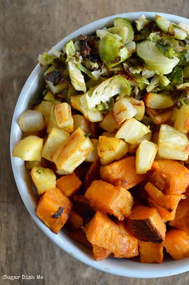 Thanksgiving Roasted Vegetable Recipe